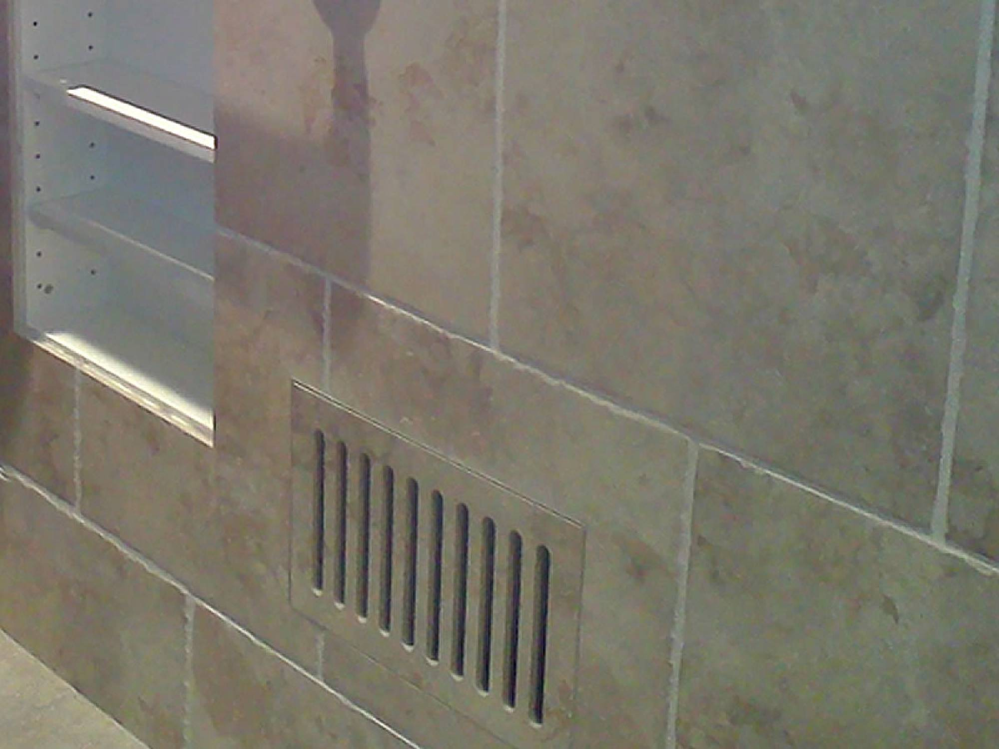 Vent cover floor registers made with ceramic tile marble bathrooms kitchens hallways wherever youve chosen to tile we have tasteful solutions for you dailygadgetfo Gallery